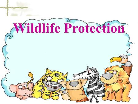 Wildlife Protection. panda elephant golden monkey Milu deer.