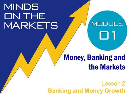 Money, Banking and the Markets Lesson 2 Banking and Money Growth.