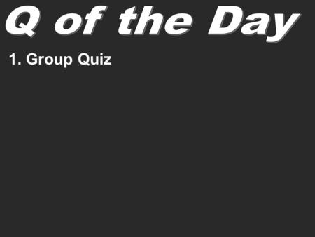 1. Group Quiz. Solid lithium reacts with oxygen gas to produce lithium oxide: a. write a formula for each substance b. Identify reactants and products.