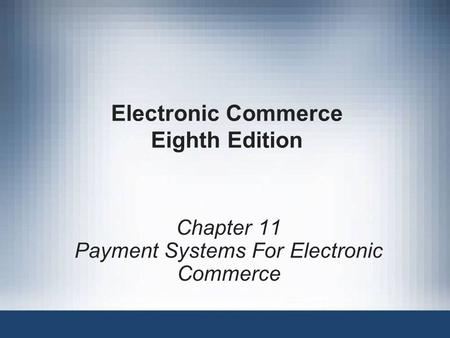 electronic commerce by gary schneider pdf 2017