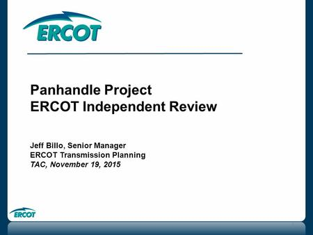 ERCOT Independent Review