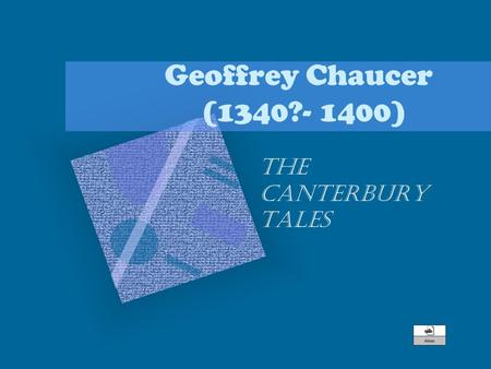 an analysis of corruption in the canterbury tales by geoffrey chaucer The canterbury tales by geoffrey chaucer: character analysis cliff notes character analysis the knight chaucer describes an ideal knight, a verray parfit, gentil knyght, who conscientiously follows all the social.