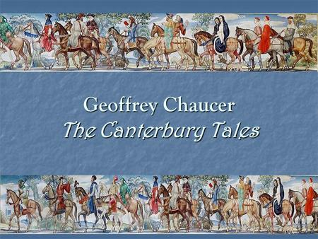 "Geoffrey Chaucer The Canterbury Tales. St. Thomas a' Becket ""Will no one rid me of this meddlesome priest"" ""Will no one rid me of this meddlesome priest"""