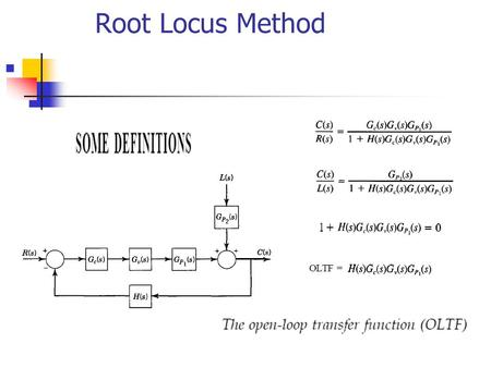 Root Locus Method. Root Locus Method Root Locus Method.