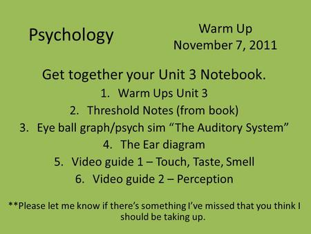 the notebook psychology By that i mean it is done with a notebook (any notebook) and a pen (or  for  example, the many studies of psychologist james pennebaker at.