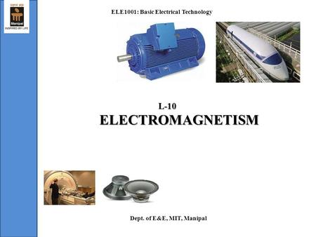 ELE1001: Basic Electrical Technology