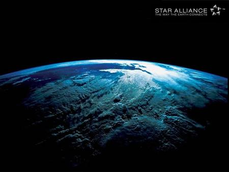 " 14 May 1997 Air Canada, Lufthansa, SAS, THAI, United formed the first global airline alliance "" Star Alliance "" A Global Solution."