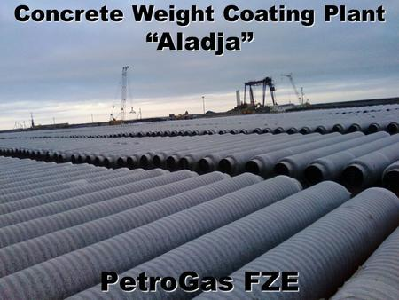 "PetroGas FZE Concrete Weight Coating Plant ""Aladja"""