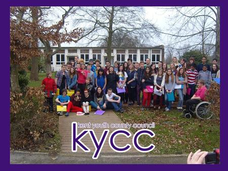 KYCC Elections Last year elections were carried out in over 133 Polling stations across Kent online. 105 Young People nominated themselves to take part.