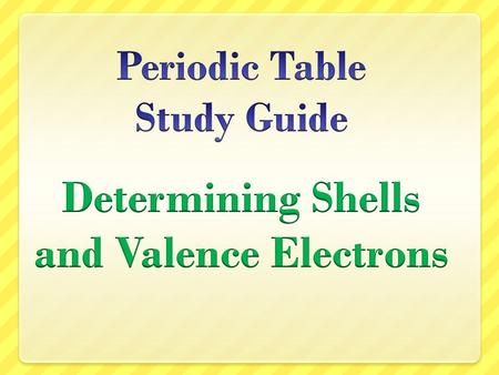 "Periods Each row is called a ""period"" The elements in each period have the same number of shells www.chem4kids.com."