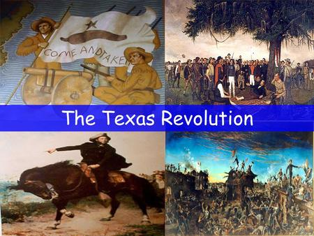 The Texas Revolution. Mexican Independence Mexico gained independence from Spain.