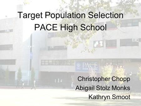 target population essay Knowing our target audience helps shape the tone of our words in this lesson    how to determine the best audience or readers for an essay audience.