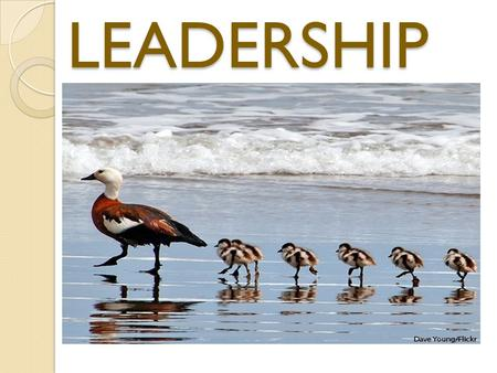 LEADERSHIP. DEFINATIONS:-  Koontz and O`Donnell.- Leadership is the ability of a manager to induce subordinates to work with confidence and zeal.  George.