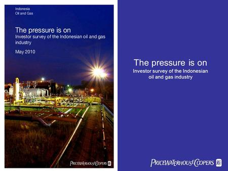 The pressure is on Investor survey of the Indonesian oil and gas industry sbcsc.