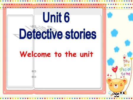 Welcome to the unit Sherlock Holmes Discussion : What qualities should the detective have?
