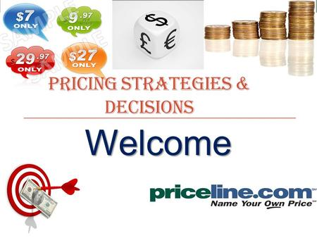 Welcome PRICING STRATEGIES & DECISIONS. Name: Surej P John Office: MSM 3 rd floor, Cabin# 01