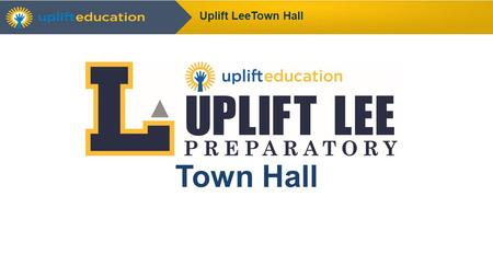 Town Hall Uplift LeeTown Hall. Community News Uplift Lee Town Hall.