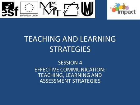 effective teaching and learning strategies pdf