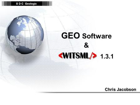 GEO Software & Chris Jacobson
