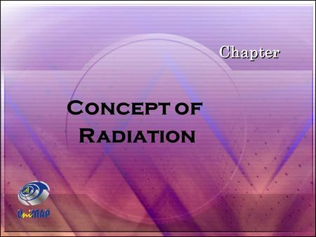 Chapter Concept of Radiation.