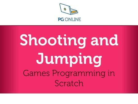 Games Programming in Scratch