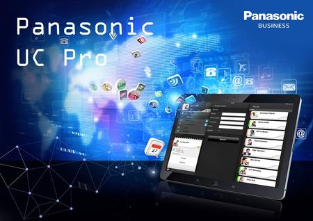 Panasonic UC Pro. 2 The reason why you Multi-device flexibility Anywhere versatility Get connected easily Anytime you want Quickly & Accurately Text chat.