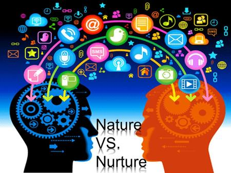 What is nature? Nature has to deal with our genetics, Like what we inherit. For example; in nature vs. nurture, People in favor of nature believe the.