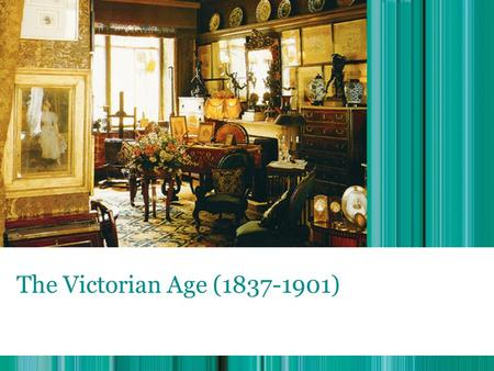 The Victorian Age (1837-1901).  Victoria became queen at the age of 18 in 1837.  Her reign was the longest in the British history. The Victorian Age.