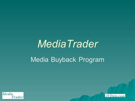 MediaTrader Media Buyback Program. Media Buyback Used CD's, DVD Movies and Video Games are building up in peoples homes Given a convenient way to dispose.