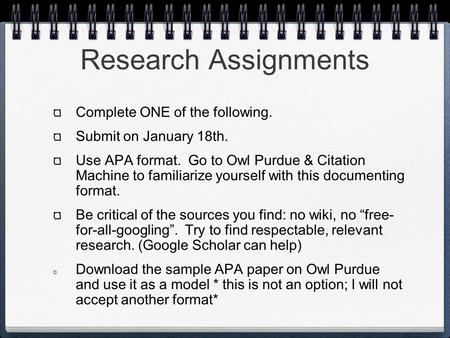 purdue owl apa thesis citation