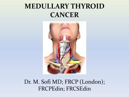 Medullary carcinoma of thyroid symptoms
