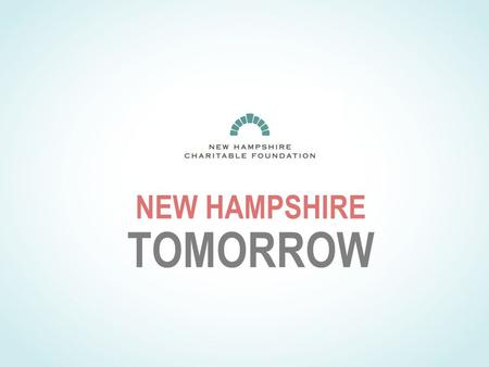 NEW HAMPSHIRE TOMORROW. DID SUCCESS LEAD TO COMPLACENY?