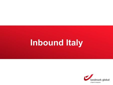 Inbound Italy. Italy Market overview Italy has a population of 61.2 million inhabitants 12 million buy online Online sales amounted to a value worth $