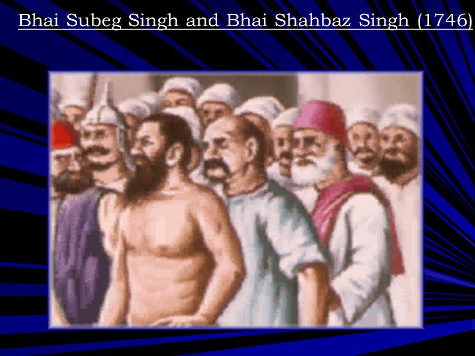 Bhai Mani Singh ji (1738)