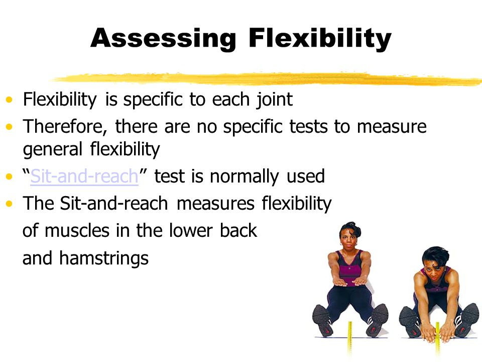 ACSM Stretching Guidelines American College of Sports Medicine Stretch 2-3 days per week Do flexibility training 3-5 days per week Stretch your muscles after they are warm Incorporate stretching into your cool-down following exercise