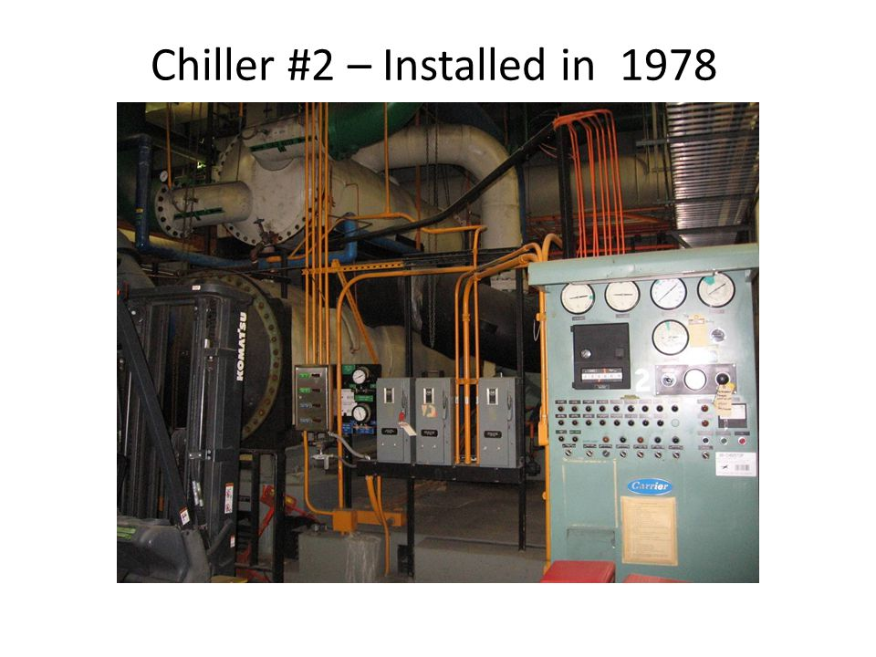 Existing supply fan in B/A E.Installed 1978.