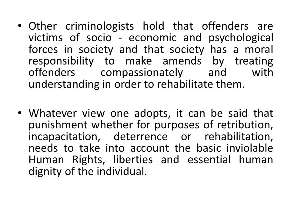It is important to note that management of prisons is primarily about the management of human beings.