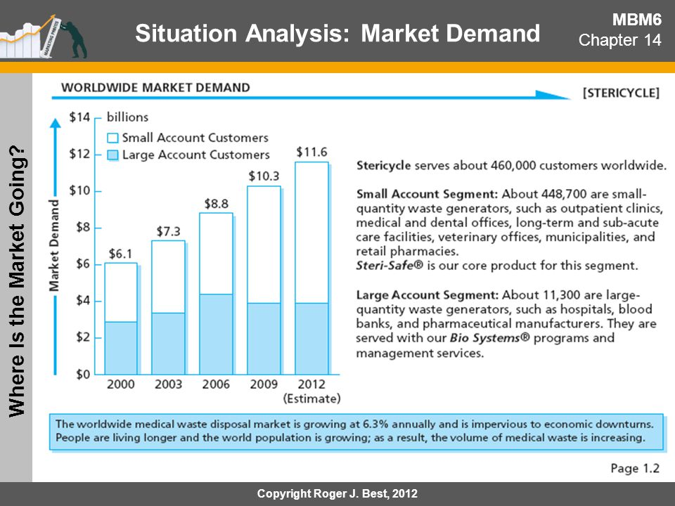 MBM6 Chapter 14 Situation Analysis: Global Sales Mix What Are The Markets We Serve.