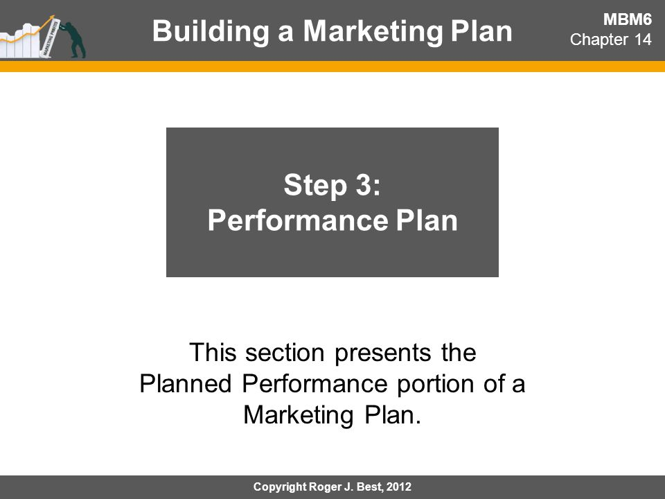 Performance Plan: Major Considerations MBM6 Chapter 14 How is the Marketing Strategy different for the Apple Mac vs.