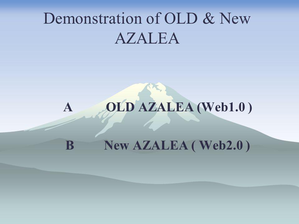 Demonstration : Old AZALEA
