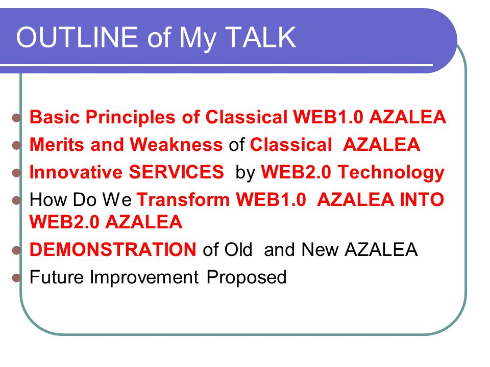 BASIC PRINCIPLES of AZALEA MOST Frequently Used KEY WORDS 1 take advantage of 2 as a result of 3 be available to 4 research into 5 ……………………..