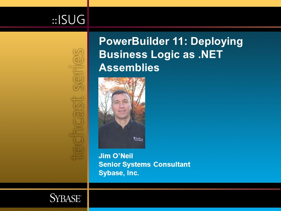 4 Agenda  PowerBuilder roadmap  PowerBuilder.NET support  The five Ds of PowerBuilder.NET assemblies –Design the business logic –Define the deployment properties –Deploy the NVO –Develop the calling application –Debug the assembly  Demo: the sixth D  Learn more about it!