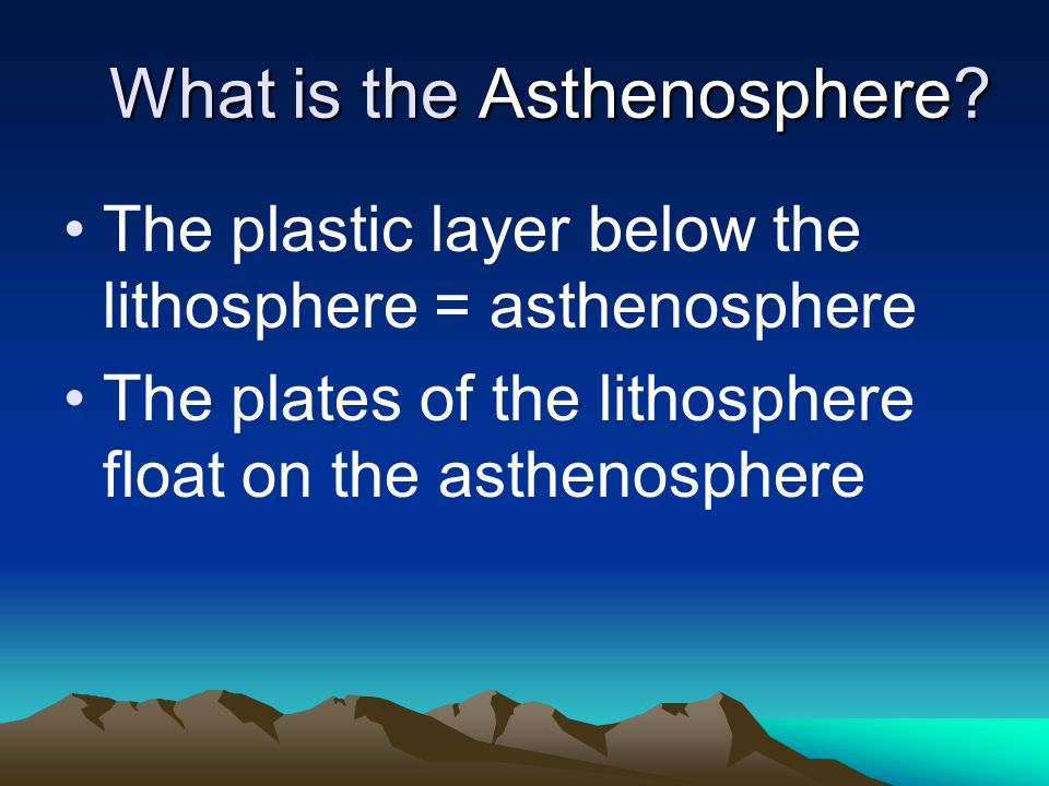 Platetectonics The theory states that Earth s outermost layer, the lithosphere, is broken into 7 large, rigid pieces called plates.