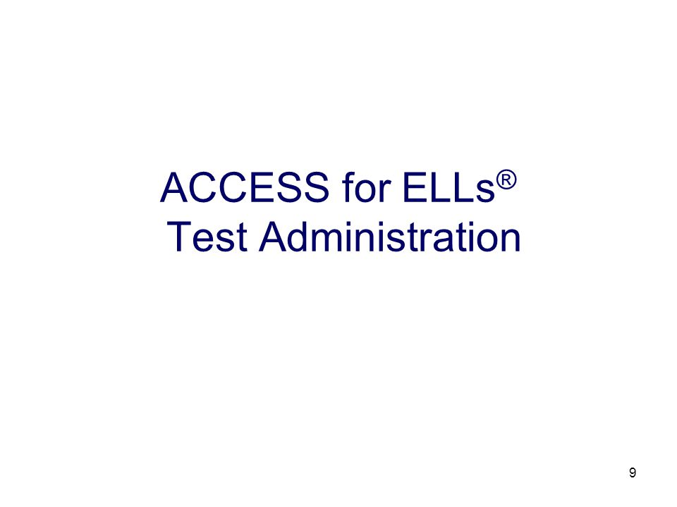 10 Division Directors of Testing (DDOTs) may assume responsibility for ordering, receiving, distributing, collecting, and returning secure and non-secure test materials; and receiving and distributing score reports.