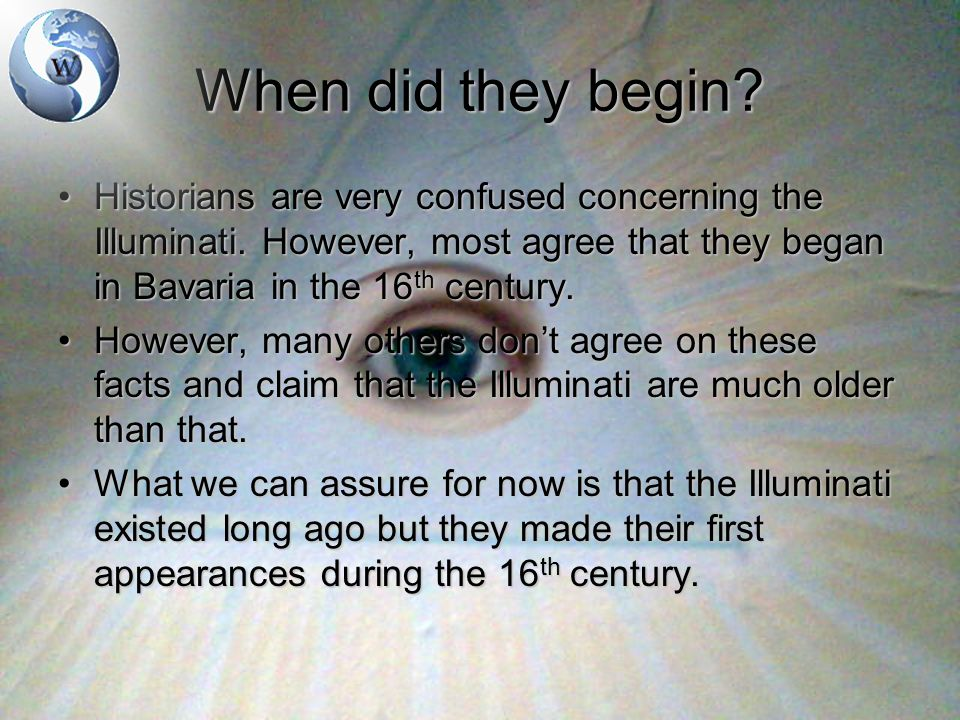 What did they do.The Illuminati were mainly scientists.The Illuminati were mainly scientists.