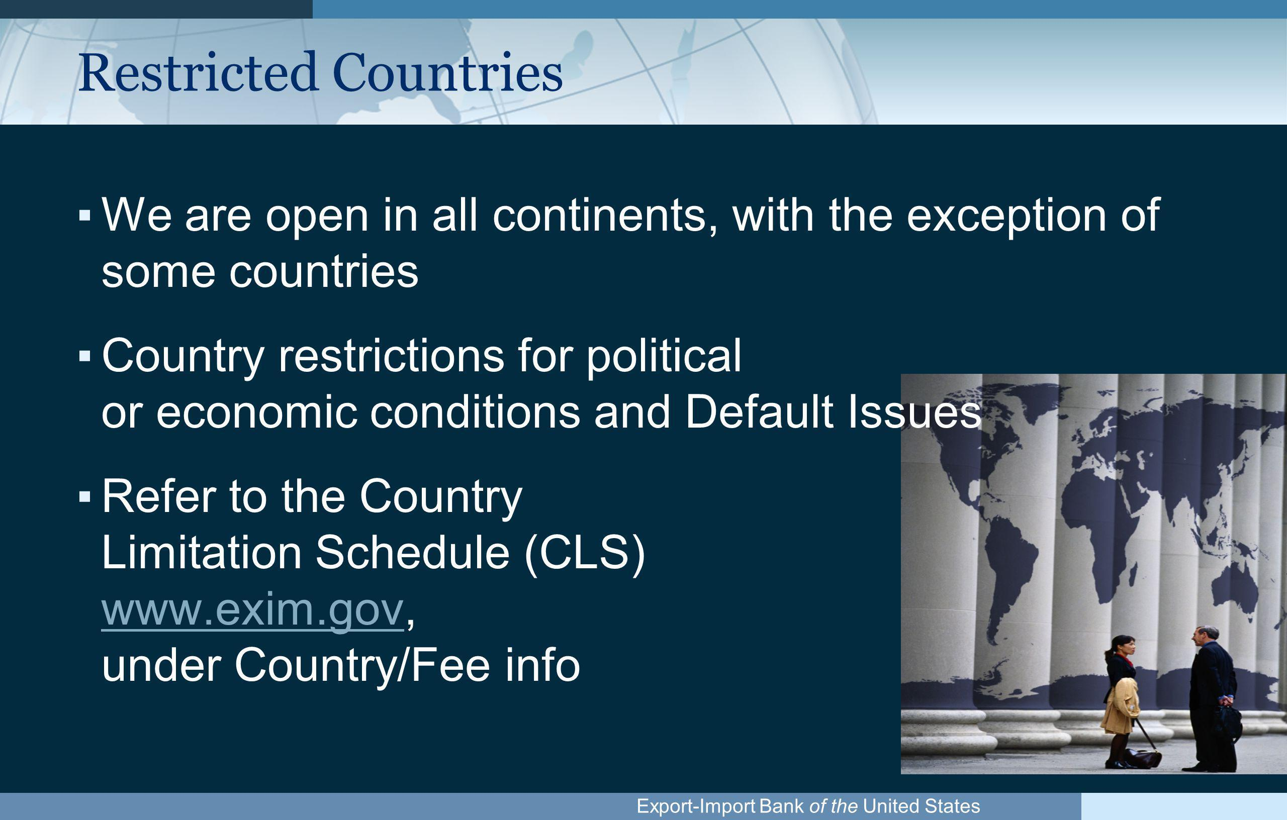 Export-Import Bank of the United States Call Ex-Im, If You...