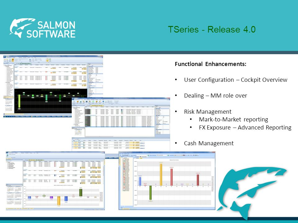 Please Visit our Stand here at SAF for More Information! Salmon Software October 2012