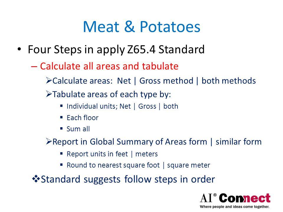 Meat & Potatoes