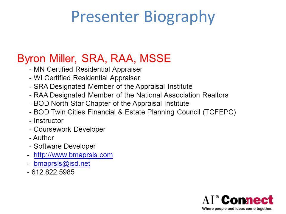 Seminar Objectives Discuss SFR Measuring Standard Discuss MFR Measuring Standard