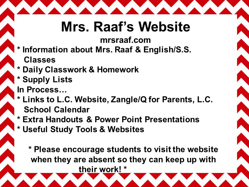 * Notify me via email Bad day Concern Need * Allow/Encourage your student to email me HW Questions Confusion Clarification Needed Problem or Need * jraaf@conejousd.org What You Can Do